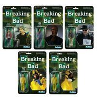 Figure Action Breaking Bad 10cm Original Funko Reaction Choix Personnage