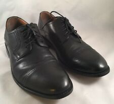Bostonian Mens Black Cap Toe Dress Oxford Lace Up Shoes Size 10 M