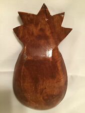 Pineapple Wooden Candy Trinket Dish Bowl
