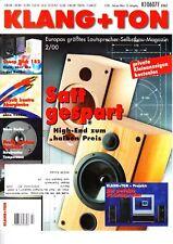 Klang&Ton 2/00 Acoustic Real B 2 u.B 5,Pegasus Phonopreamp mit Röhrenbestückung