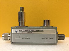 HP / Agilent 786D 960 to 2110 MHz, Type N (M-F) to BNC (F) Directional Detector.