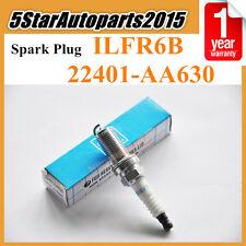 Set 4x Spark Plug 22401-AA630 ILFR6B For Subaru Impreza Forester 2.5 Outback 3.0