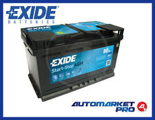 BATTERIA PER AUTO EXIDE EK800 80 AH AMPERE 800 EN 12 VOLT START STOP SERVIZI AGM