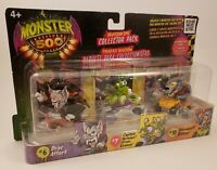 Monster 500 Invasion One Collector Pack 3 Figure Set # 6 #7 #10 NEW!