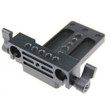 Tripod Mounting Plate Railblock for 15mm Rod Support System DSLR Camera Rig