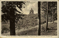 Porta Westfalica ~1920/30 Weg z. Kaiser Wilhelm Denkmal Wittekindsberg frankiert