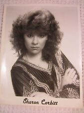 1980s b&w promo picture Sharon Corbitt Helena Ark Nashville music business