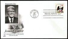 PRESIDENT JAMES E. CARTER INAUGURATION COVER PLAINS GA 1977 ART CRAFT CACHET