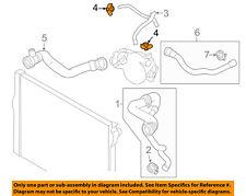 BMW OEM 12-18 M6 4.4L-V8 Radiator-Vent Hose Clamp 07129952102