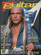 1988 January Guitar For The Practicing Musician - Vintage Magazine