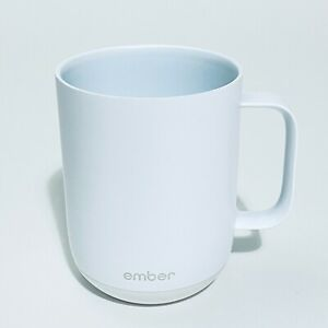 Ember 10oz White Coffee Mug Only No Base. Late Night with Seth Meyers