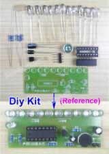 5V-12V Music Voice Light 11-LED Level Indicator DIY Electronic Kit Flowing Lamp