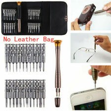 Mini 25in1 Magnetic Precision Screwdriver Repair Tool For Phone PC Kit Bit Set