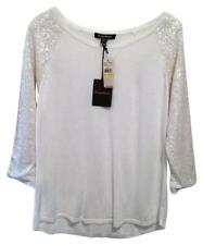 Tommy Bahama Womens Cream Sequin Sweater New NWT Medium 8 10