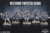 Astra Militarum Militarum Tempestus Scions - Warhammer 40k - Brand New! 47-15