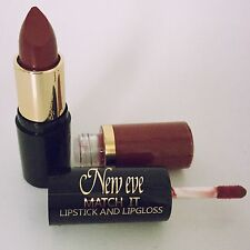 New Eve Trendy BERRY  Match it Lipstick and Lip Gloss Cosmetic  Makeup