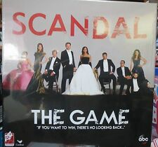 """SCANDAL - THE GAME-  """"IF YOU WANT TO WIN, THERE'S NO LOOKING BACK..."""""""