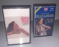 Lot of 2 Diana Ross To Love Again and The Best of Diana Ross Cassette Tapes