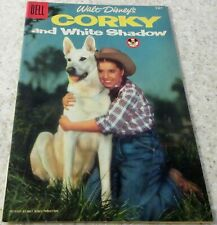 Walt Disney's Corky and White Shadow Four-Color 707, (FN 6.0) 1956 30% off Guide