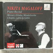 NIKITA MAGALOFF: Piano Recital - Live 1991 (CD Ermitage 415-2 / neu)
