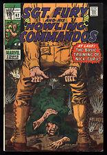 Sgt. Fury & His Howling Commandos (1963) #62 Dick Ayers & John Severin Art Fine