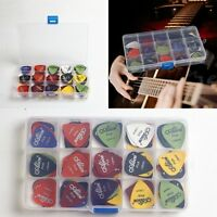 100X Acoustic Guitar Folk Gitarre Picks Plektrum Plectren Pleks Plektron