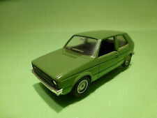 SOLIDO 19 VW VOLKSWAGEN GOLF I- 1:43 - GREEN - RARE SELTEN - GOOD CONDITION