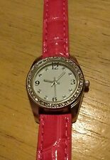 Vintage Pink Gemmed Ladies watch, JCP1145/A126-13, Running with new battery K