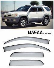 For 12-UP Toyota Yaris Hatchback WellVisors Side Window Visors Premium Series