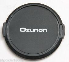 62mm Lens Cap - Snap-on - Ozunon - Japan - Plastic - USED C514