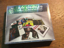 Ray Charles - 8 Classic Albums [4 CD Box]  Great Yes Indeed Newport What'd i Say