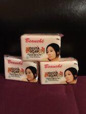 3 Bars BEAUCHE INTERNATIONAL GLUTA SOAP SUPER WHITENING LOT OF 3 SOAPS