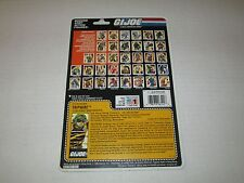 Gi Joe Vintage 1988 TRIPWIRE UNCUT FULL FILE CARD