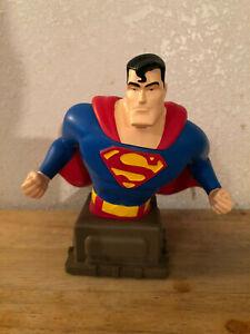 SUPERMAN BUST 1234/3000 VARNER STUDIOS DC COMICS BRAND NEW OPENED