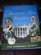 *NEW AUTOGRAPHED BOOK 200 Years of First Family Life in White House by C Anthony