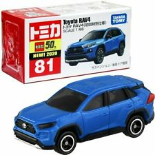 Takara Tomy Tomica 81 Toyota Rav4 Car Vehicle Diecast Launch Edition