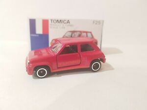 TOMICA F25 - RENAULT 5 TURBO [RED]  ABSOLUTELY MINT VHTF MADE IN JAPAN