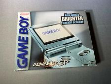 Nintendo Game Boy Advance SP Pearl Blue Console New Open Box