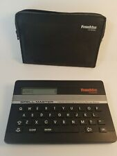 Spellmaster Merriam Webster Franklin Spell Master Sa-103 with Computer Case