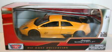 MotorMax 1/24 Scale Metal Model 73350 - Lamborghini Murcielago LP670-4 SV Yellow