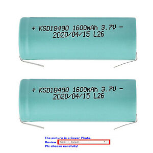 Kastar Lithiumion Battery for Philips Norelco HQ9140 HQ9160 9160XL HQ9170 9170XL