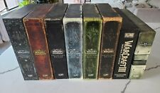 World of Warcraft Collectors Editions Wow Sets, 1-6 and WC3, SC2 ALL MINT