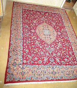 hochwertiger Perserteppich 3x4m Mesched Wolle Teppich Orientteppich