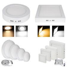 6W-24W LED Panneau Encastré Panel Plafond Lampe Lumineux lumière Plafonnier