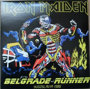 IRON MAIDEN-Belgrade Runner 2LP Yellow Vinyl