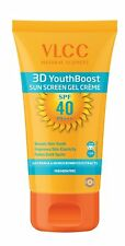 VLCC 3D Youth Boost SPF40 PA +++ Sunscreen Gel Creme | 100g | Free Shipping