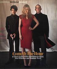 GUARDIAN WEEKEND Magazine Ben Whishaw Romola Garai Dominic West NEW