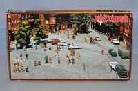 """HO Scale Vollmer 3778 Market Place Accessories """"Marktplatzausstattung"""" - NIB"""