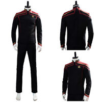 Star Trek Jean-Luc Picard Cosplay Costume Halloween Uniform Outfit Suit