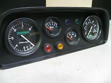 FIESTA MK1 FIBREGLASS DASH POD AND GAUGES, WIRED,RALLY,RACE,FAST ROAD,